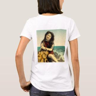 Vintage Japanese Swimsuit Bathing Beach Beauty T-Shirt