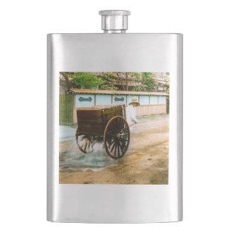 Vintage Japanese Water Wagon Man Old Japan Flasks