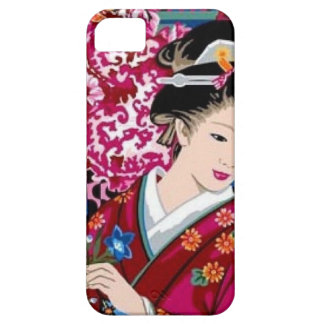 Vintage Japanese Woman in Kimono Case For The iPhone 5