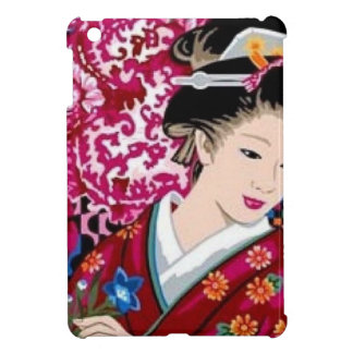 Vintage Japanese Woman in Kimono Cover For The iPad Mini