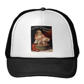 vintage-jennie-yeamans-poster. trucker hat