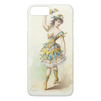 Vintage Jester iPhone Case