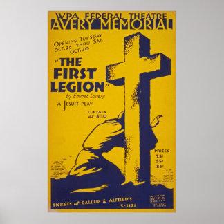 Vintage Jesuit Play Poster