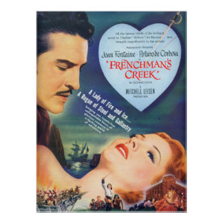 Vintage Joan Fontaine Poster