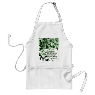 Vintage Job Bible Verse Aprons