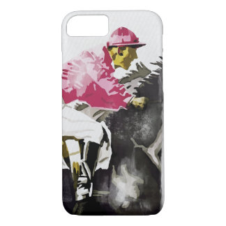 Vintage jockeys horse racing iphone 7 case