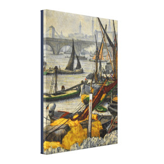 Vintage John Stanhope Thoughts of the Past Canvas Print