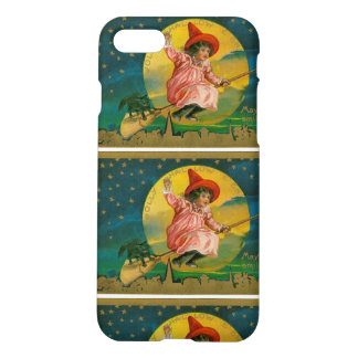 Vintage Jolly Halloween Witch iPhone 8/7 Case
