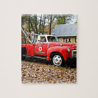 Vintage Jones Tow Truck Jigsaw Puzzle