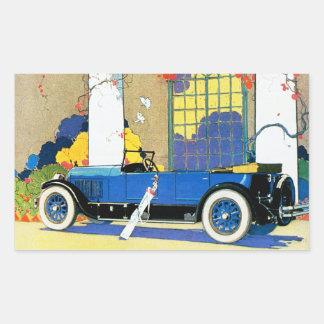 "Vintage Jordan ""Blue Boy"" Automobile Sticker"