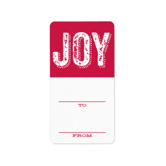 VINTAGE JOY | HOLIDAY GIFT TAGS