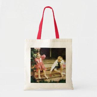 Vintage July Fourth Fun Tote Bag