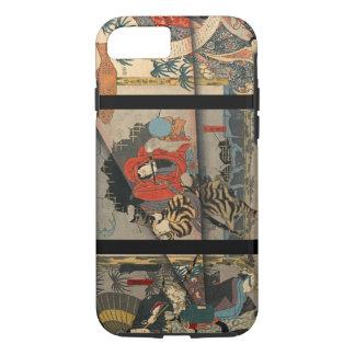 Vintage Kabuki Poster 1847 iPhone 7 Case