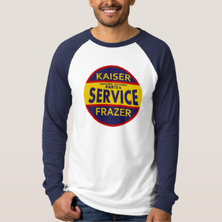 Vintage Kaiser Frazer service sign red/blue T-Shirt