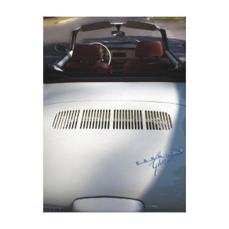 Vintage Karmann Ghia Photo Wrapped Canvas