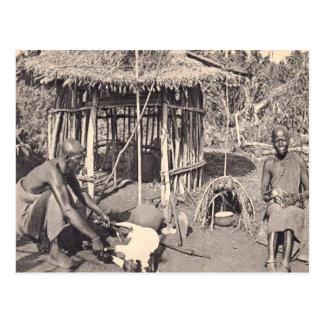 Vintage  Kenya, Colony Kalamando Postcard