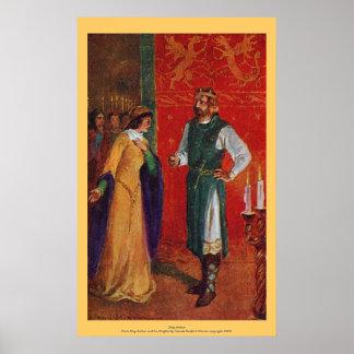 Vintage - King Arthur Poster