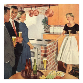 Vintage Kitchen, Family Reunion Party Invitation