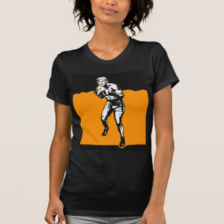 Vintage Kitsch Boxing Boxer in The Ring Tee Shirts