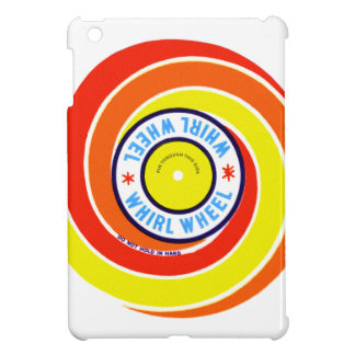 Vintage Kitsch Firework Label Whirl Wheel Cover For The iPad Mini