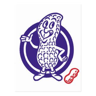Vintage Kitsch Penuts Peanut Character Postcard