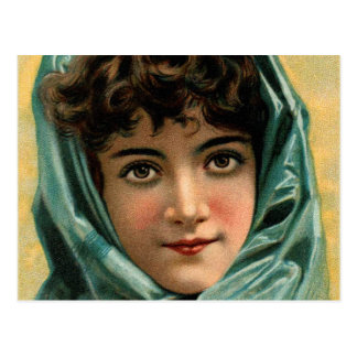 Vintage Kitsch Victorian Glenwood Stove Trade Card Postcard