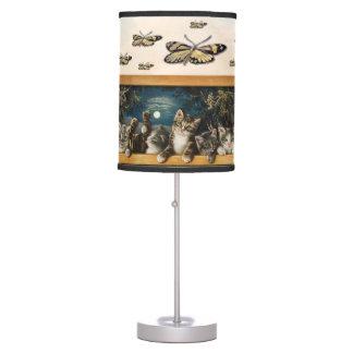 Vintage Kittens Collage Mug Table Lamp