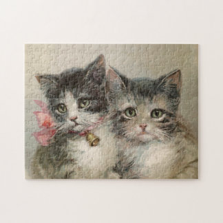 Vintage Kittens Jigsaw Puzzle