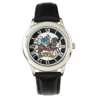 Vintage Knight with Roman Numerals Wrist Watches