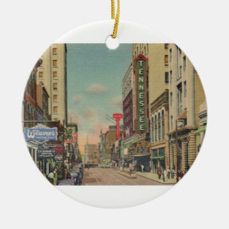 Vintage Knoxville Holiday Ornament