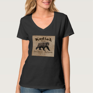 Vintage Kodiak Salmon Label T-Shirt