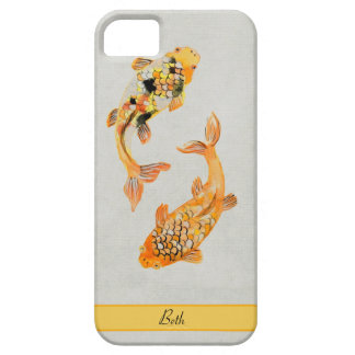 Vintage Koi Case For The iPhone 5