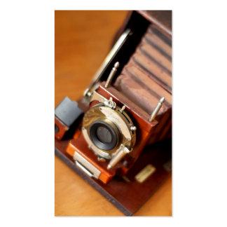 Vintage Korona Camera Business Card
