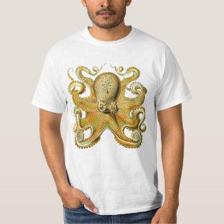 Vintage Kraken, Giant Octopus by Ernst Haeckel T-Shirt
