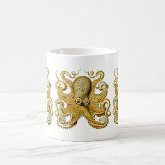 Vintage Kraken, Octopus Gamochonia, Ernst Haeckel Coffee Mug