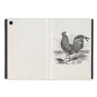 Vintage Kulm Fowl Rooster Chicken - Chickens Hen Cases For iPad Mini
