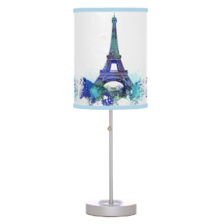 Vintage La tour Eiffel France romantic adventure Table Lamp