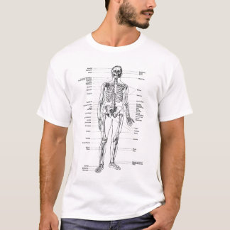 Vintage - Labeled Skeleton T-Shirt