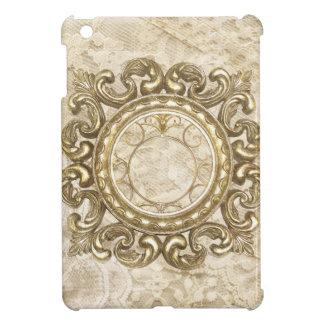 Vintage Lace & Gold Emblems Mini iPad iPad Mini Case