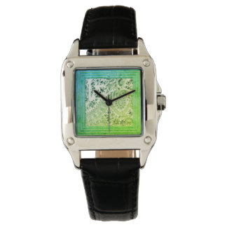Vintage Lace In Green Watch