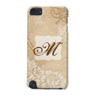 Vintage Lace Jewelry Monogram Initial IPOD Touch iPod Touch 5G Case