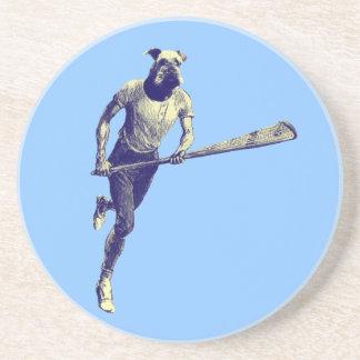 Vintage Lacrosse Airedale Coaster
