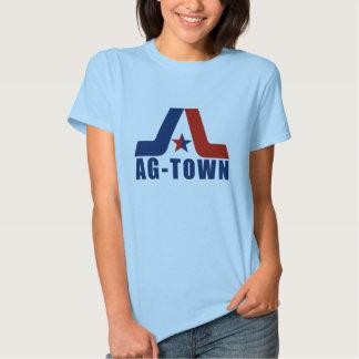 Vintage Ladies Ag-town Clean T-shirts