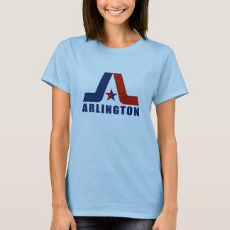 Vintage Ladies Arlington Logo Clean T-Shirt