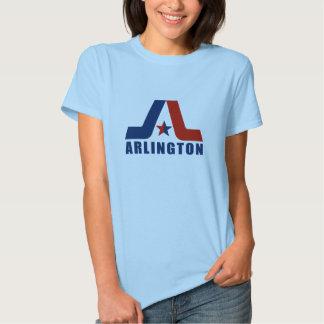 Vintage Ladies Arlington Logo Clean T-shirts