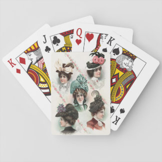 Vintage Ladies Fashion Victorian Playing Cards