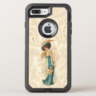 Vintage Lady 01 OtterBox Defender iPhone 8 Plus/7 Plus Case