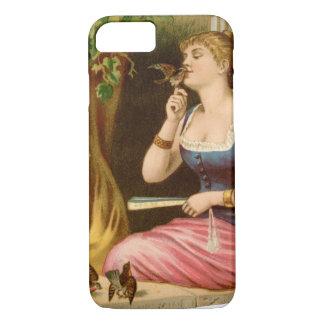 Vintage Lady Bird Lover iPhone 8/7 Case