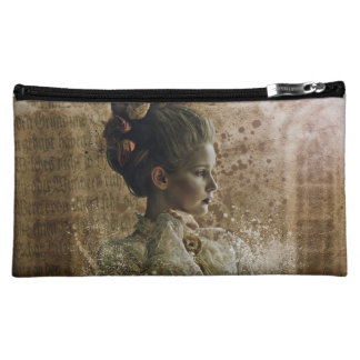 vintage lady ghost Victorian Cosmetic Bag