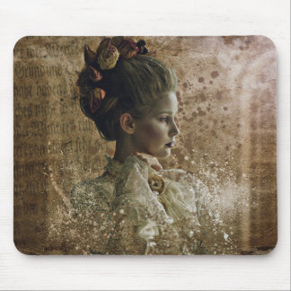 Vintage lady ghost Victorian Mouse Pad